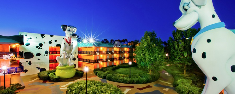 Exterior of Disney's All-Star Movies Resort
