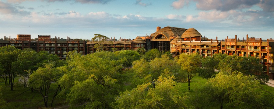 Exterior of Disney's Animal Kingdom Lodge
