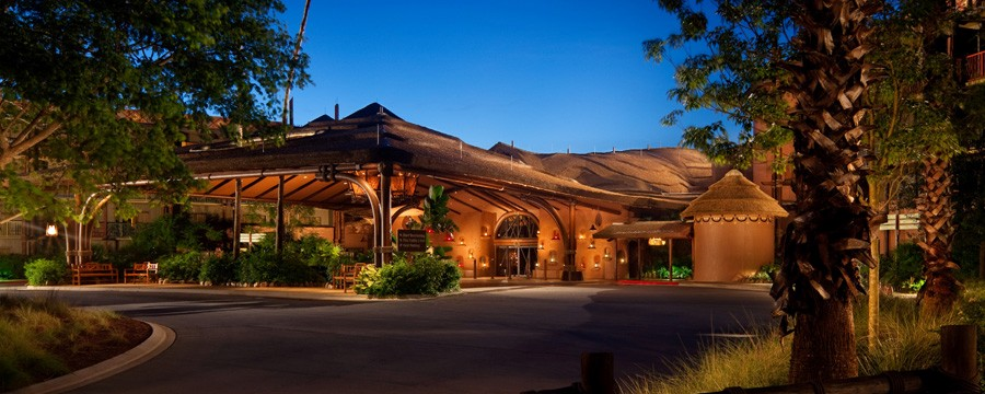 Exterior of Disney's Animal Kingdom Villas - Kidani Village