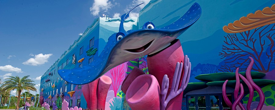 Exterior of Disney's Art of Animation Resort