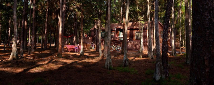 Exterior of The Cabins at Disney's Fort Wilderness Resort